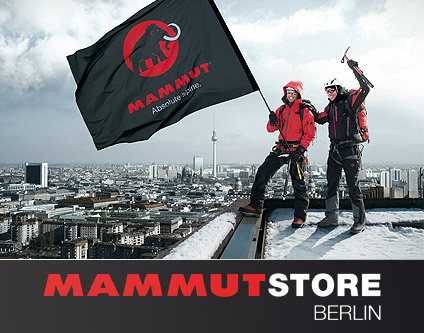 mammut store outdoor expeditionsausr stungen mode shopping berlin. Black Bedroom Furniture Sets. Home Design Ideas